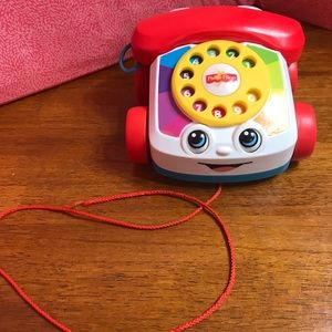Fisher Price Chatter Telephone Phone Pull Toy 2015
